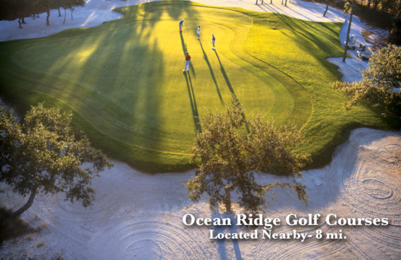 Golf course at The Winds Resort Beach Club.
