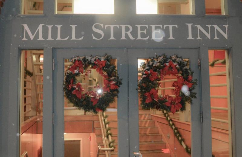 Holidays at Mill Street Inn.