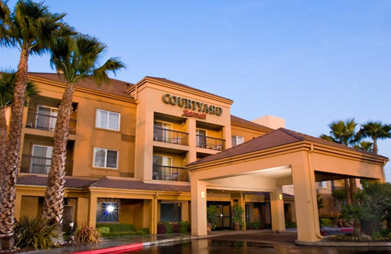 Exterior view of Courtyard by Marriott Milpitas.