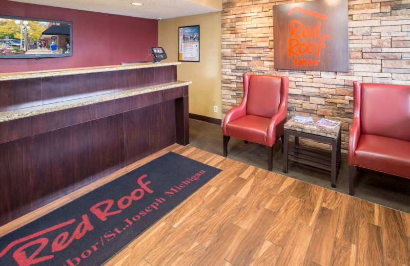 Lobby at Red Roof Inn - Benton Harbor.