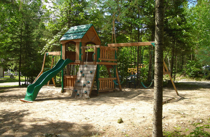 Playground at White Eagle Resort.
