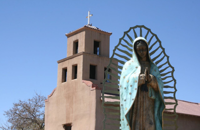Our Lady of Guadalupe near La Posada de Santa Fe Resort & Spa.