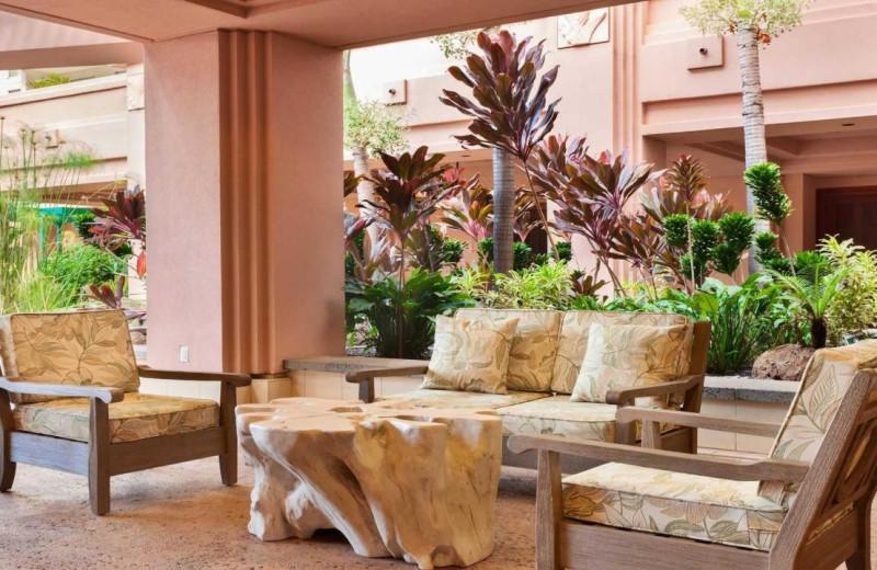 Lounge at Honua Kai Resort & Spa.