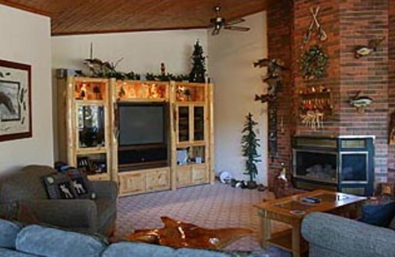 Lake House Interior at Moosebirds Bed and Breakfast