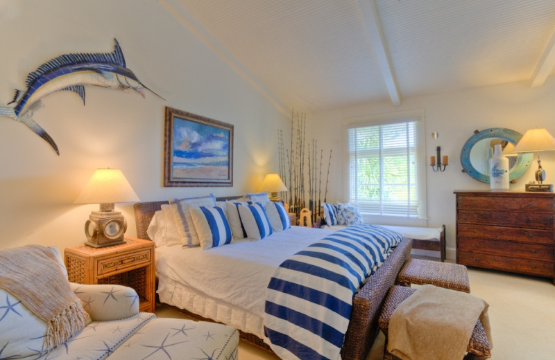 Vacation rental bedroom at Hodnett Cooper.