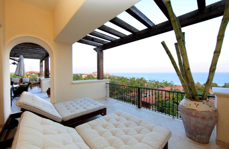 Rental patio at Luxury Villa Collections.