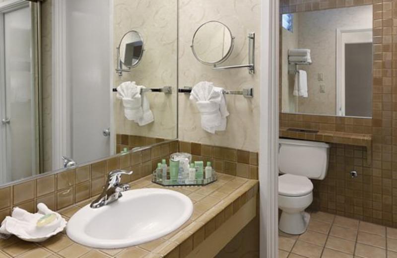 Guest Bathroom at Pepper Tree Inn