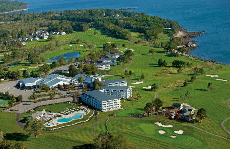 Aerial View of The Samoset Resort