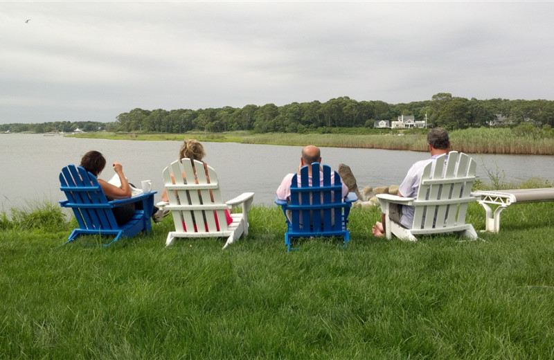 Relaxing By the Water at Seatuck Cove House