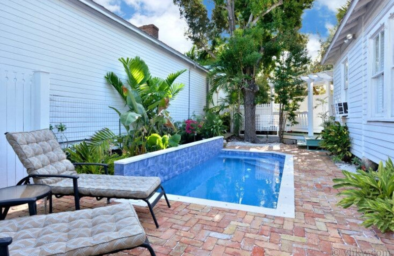 Rental pool at Vacation Homes of Key West.