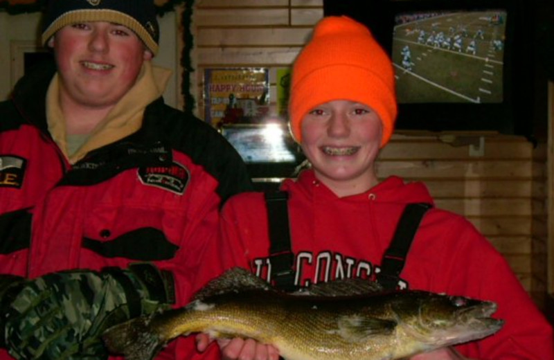 Fishing at Nelson Lake Landing Resort