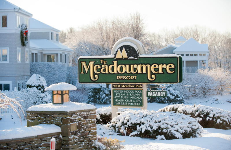 Winter at The Meadowmere Resort.
