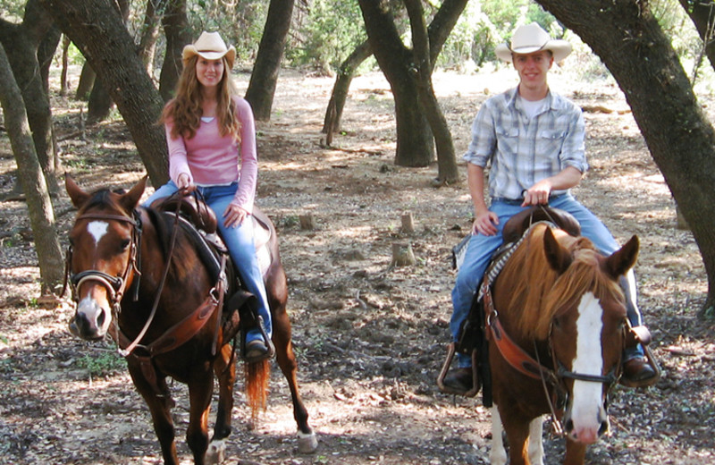Horseback riding at Silver Spur Guest Ranch.