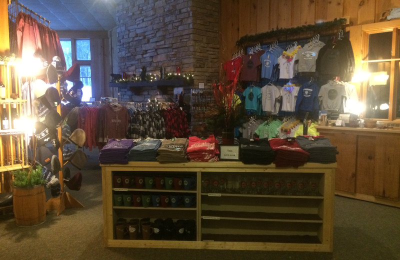 Gift shop at Big Powderhorn Mountain Resort.