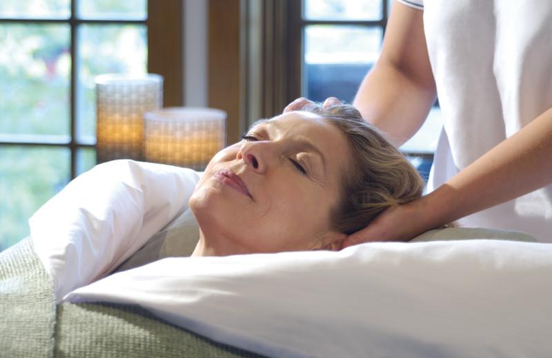 Massage at Fairmont Le Chateau Montebello.