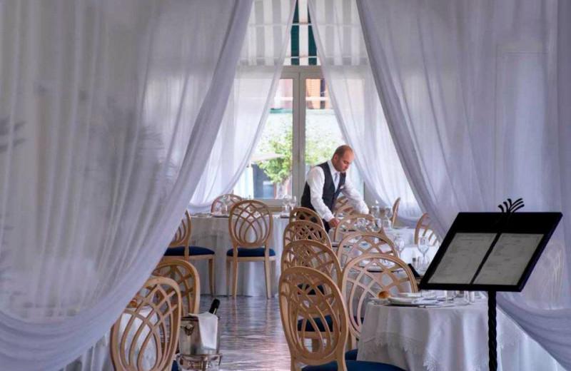 Dining at Miramare e Castello Hotel.