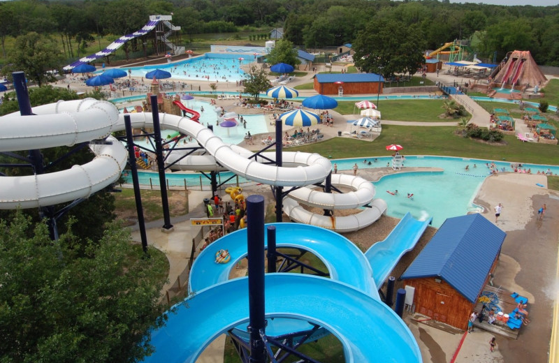 Water park near Mill Creek Ranch Resort.