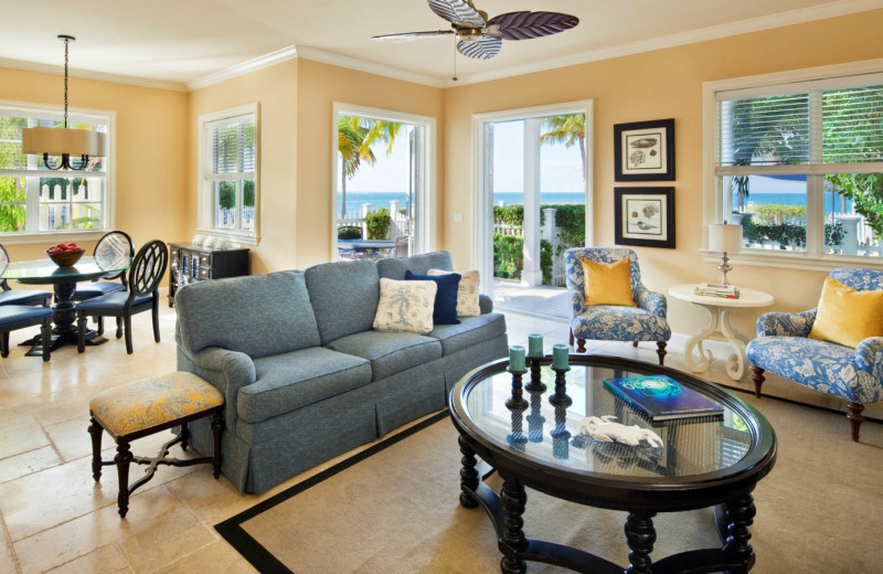 Cottage living room at Sunset Key Guest Cottages, a Luxury Collection Resort.