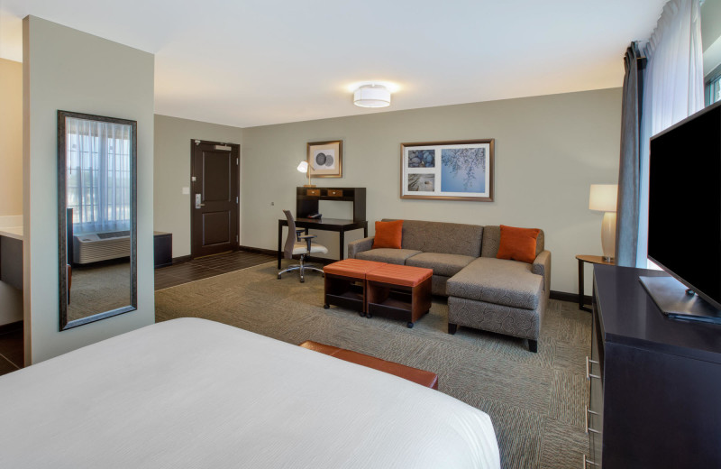 Guest room at Staybridge Suites - Benton Harbor.