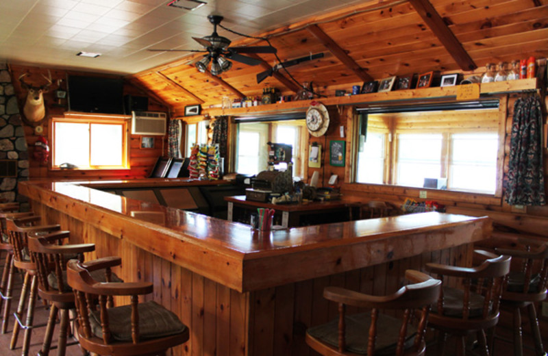 Bar at Boyles's Resort.