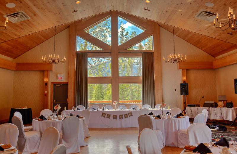Weddings at Banff Rocky Mountain Resort.