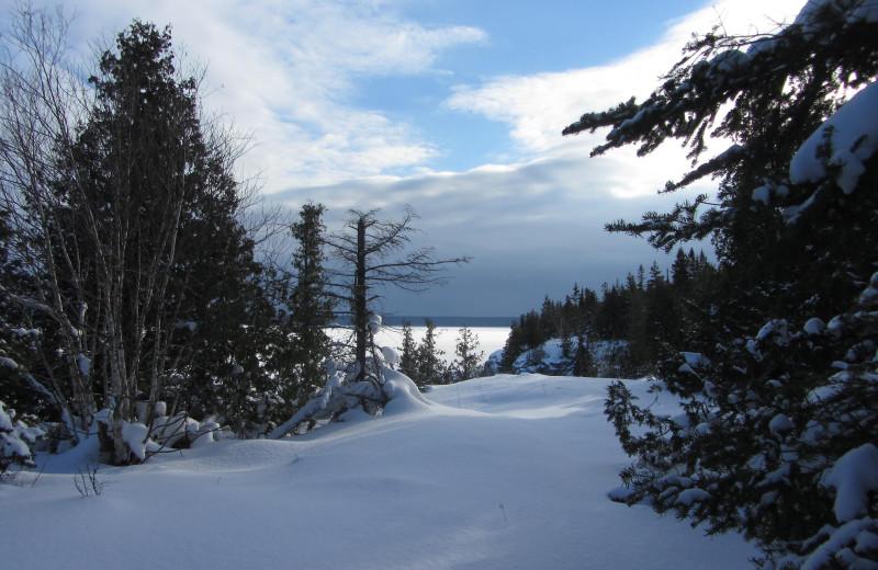 Winter at Black Rock Resort.