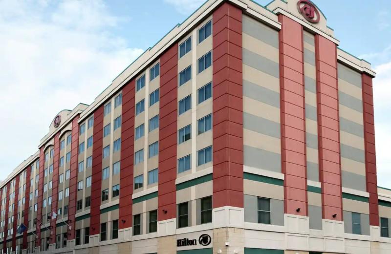 Exterior view of Hilton Scranton
