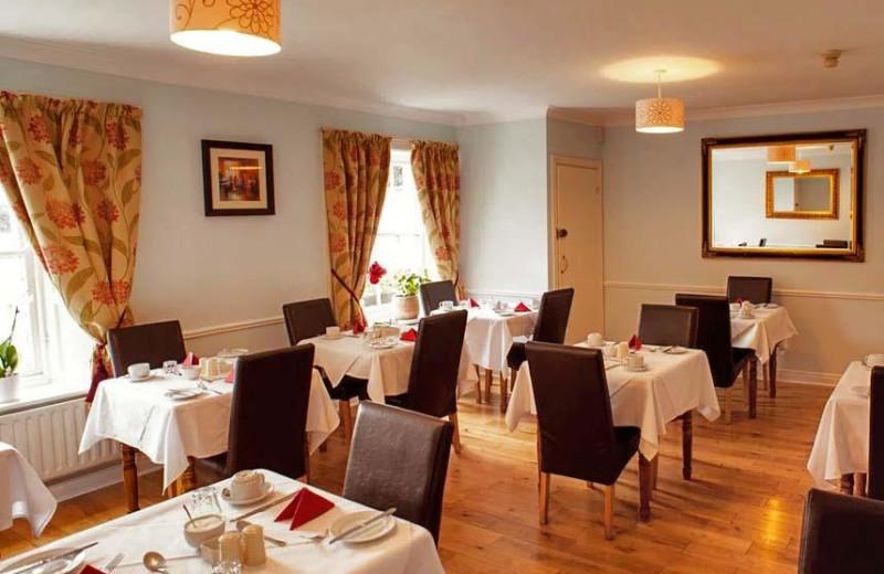 Dining room at Waterloo Lodge.