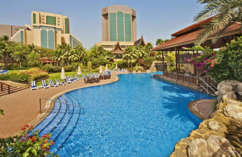 Outdoor pool at Gulf Hotel.