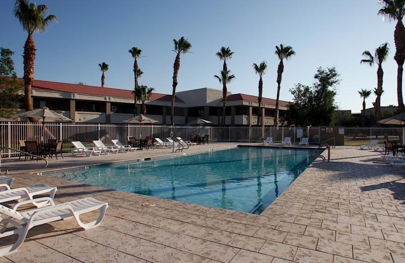Outdoor pool at Thunderbird Executive Inn & Conference Center.