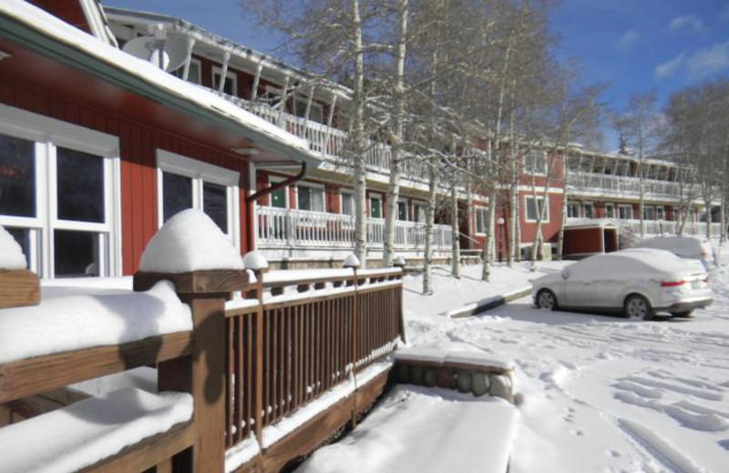 Exterior view of Roost Lodge.