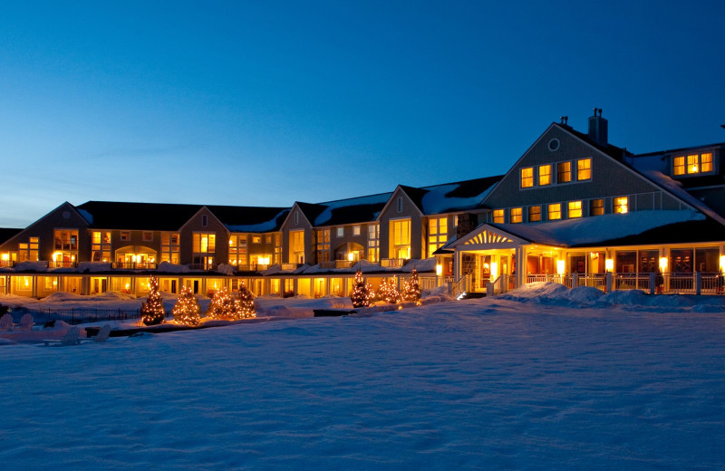 Winter at Inn by the Sea.