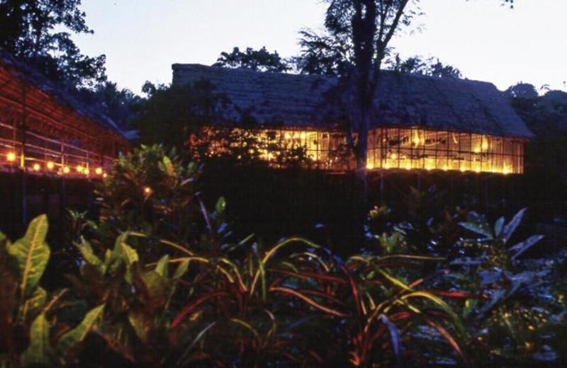 Exterior view of Amazon ExplorNapo Lodge.