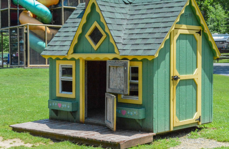 Playhouse at Yogi at Shangri-La - Jellystone Park.