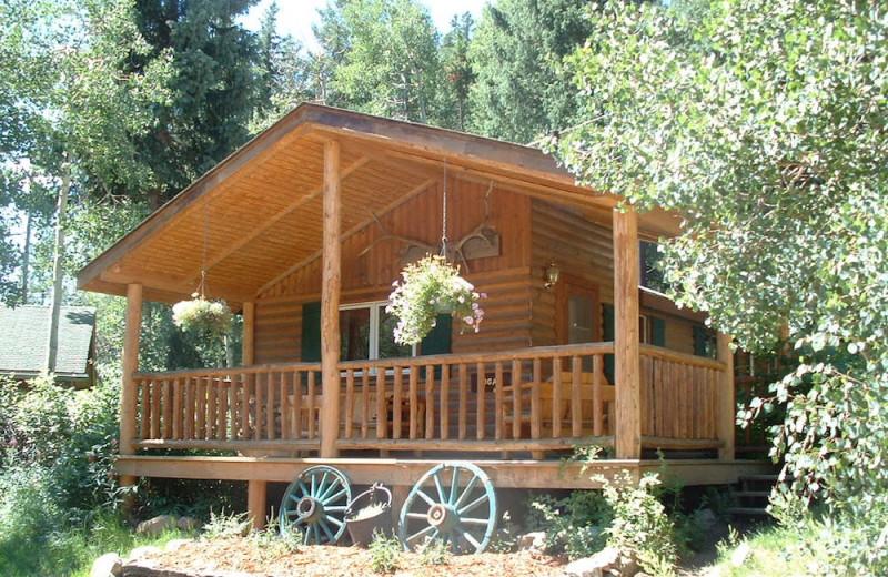 Cabin at Tumbling River Ranch.