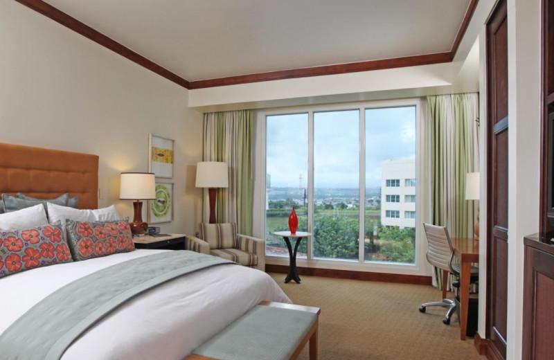 Guest room at Camino Real Inter-Continental.