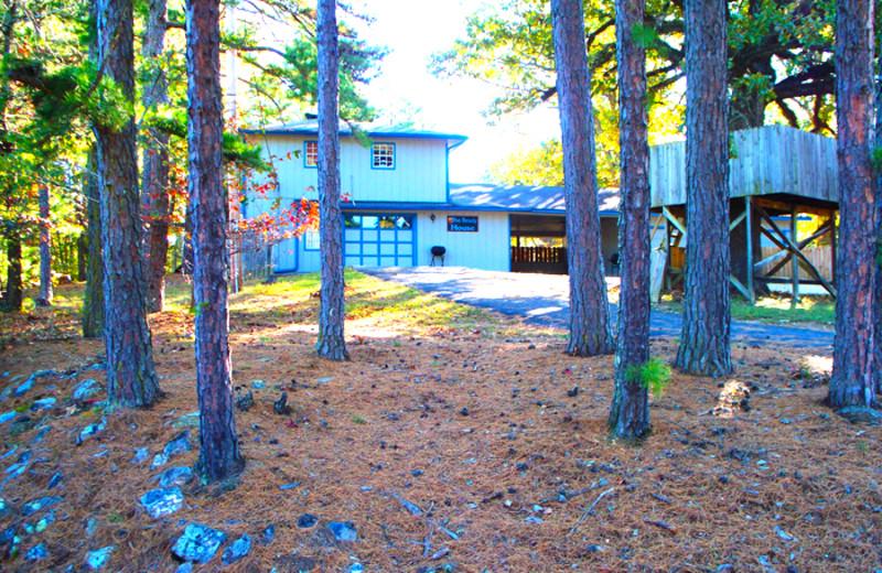 Exterior view of Brady Mountain Resort & Marina.