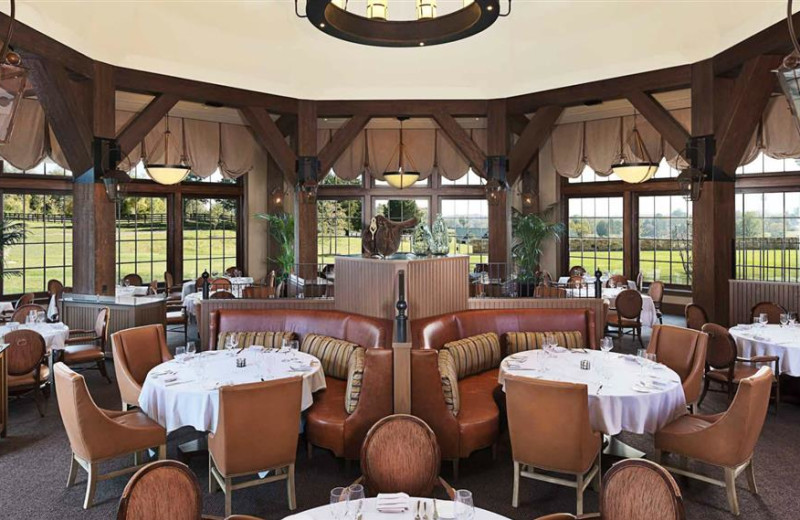 Dining at Salamander Resort & Spa.