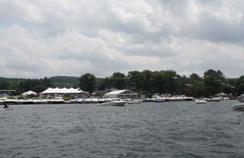 Boating at The Margate on Winnipesaukee.
