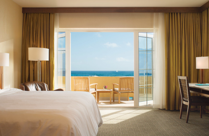 Guest bedroom at The Westin Dawn Beach Resort & Spa.