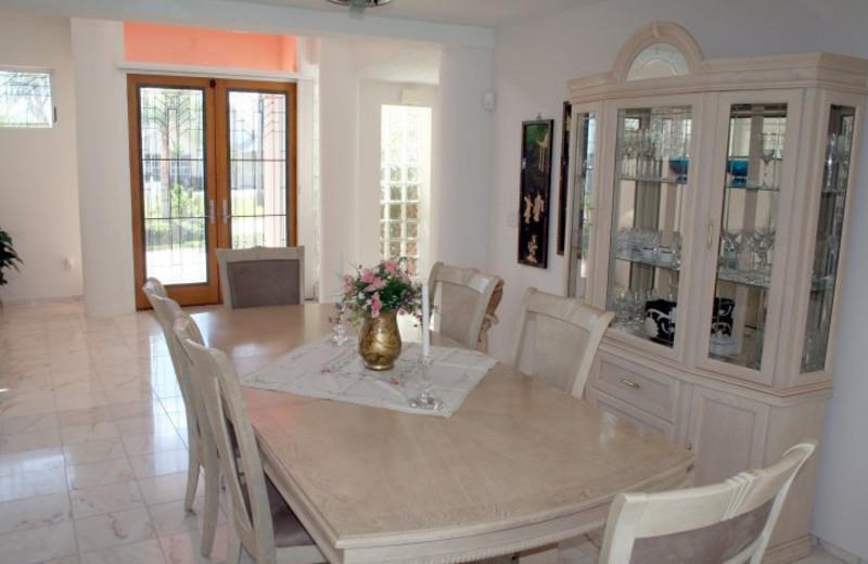Rental dining room at Liberte Management Group.