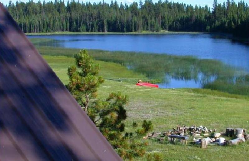 Siwash Lake View at Siwash Lake Ranch