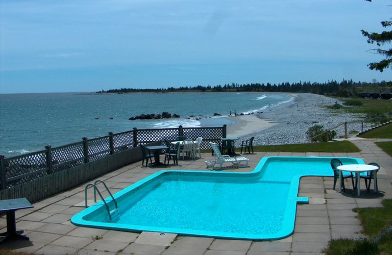 Outdoor Pool at White Point Beach Resort