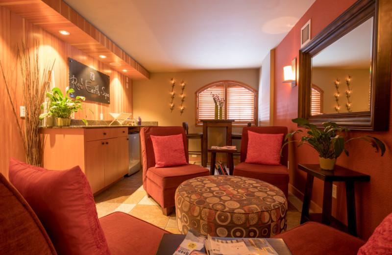 Spa lobby at Banff Caribou Lodge & Spa.