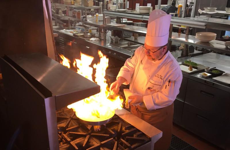 Chef at Boar's Head Resort.
