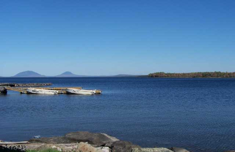 Lake view at Wilsons On Moosehead Lake.