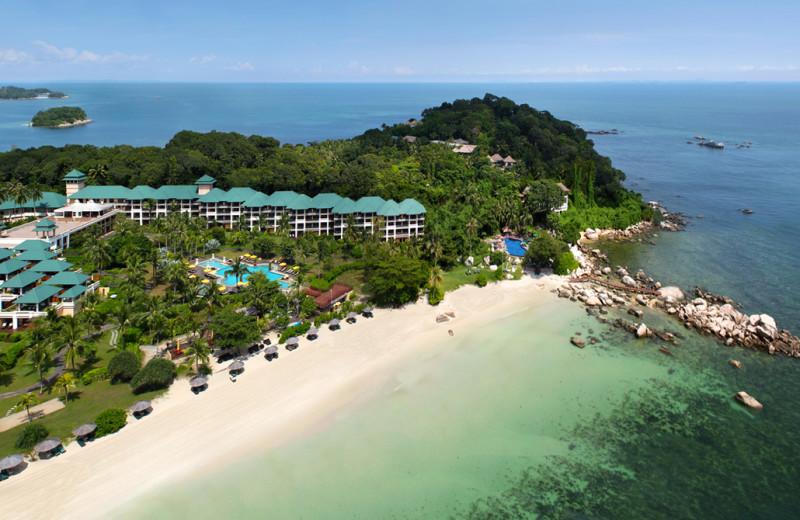 Aerial view of Angsana Resort & Spa Bintan.