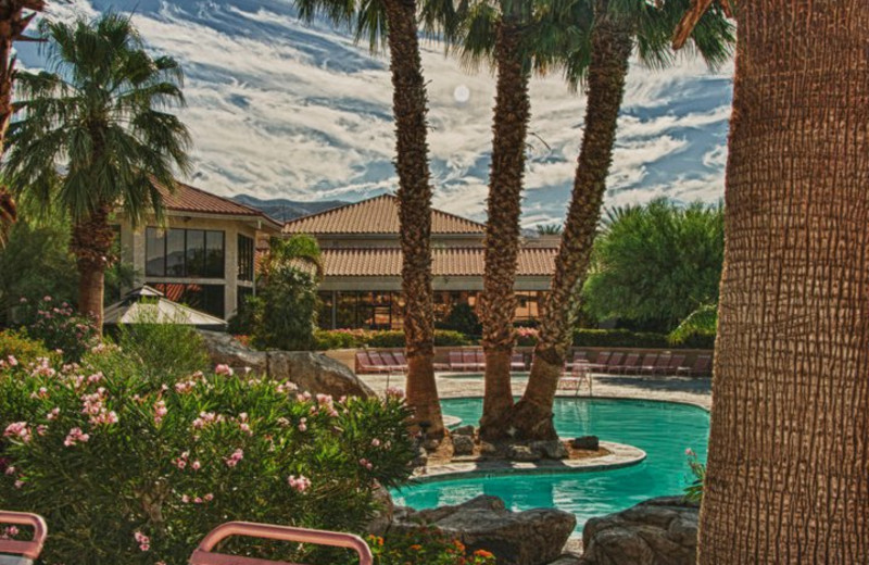 Exterior view of Miracle Springs Resort and Spa.
