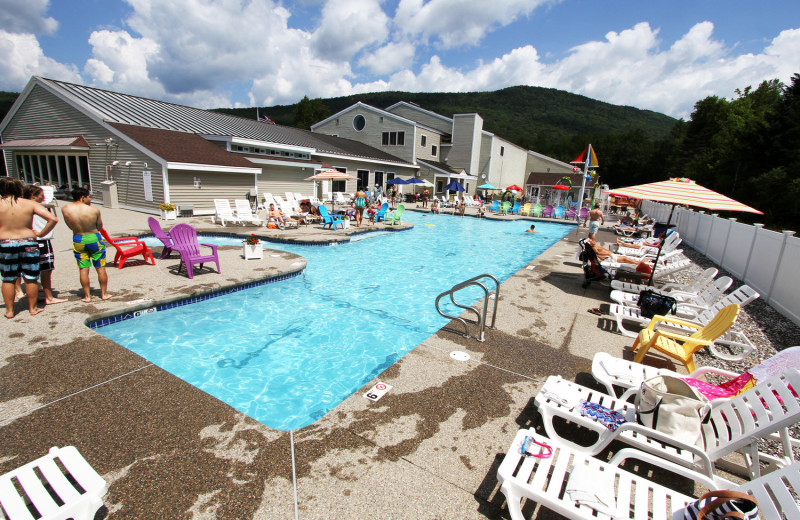 Outdoor pool at Waterville Valley Resort Association.