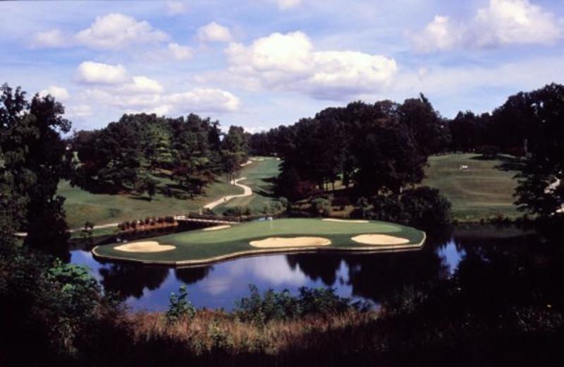 Golf course at Westgate Williamsburg.